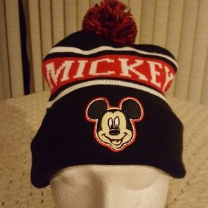 Mickey mouse hat.